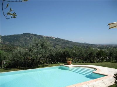 "Photo for ""Villa Stefania"" Old  Tuscan Farmhouse - Great View on Cortona"