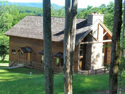 Photo for Winterwood Lodge is spacious and slope side, with large great room!