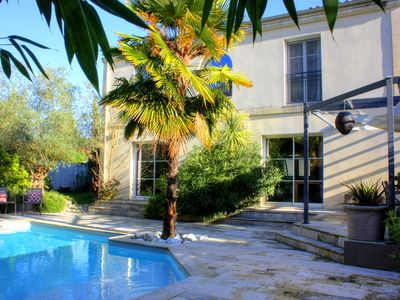 Photo for Nice House, 5 Bedrooms With Heated Pool At 15 Min From Bordeaux Center