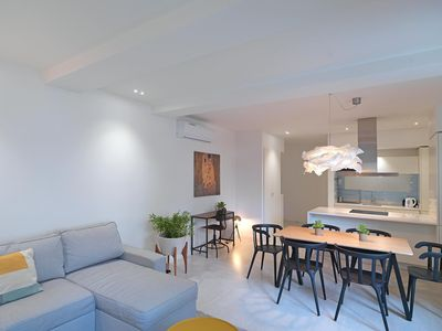 Photo for Porto Central  apartment in Vitória with WiFi, air conditioning & balcony.