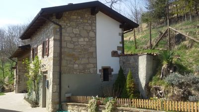 Photo for Independent stone cottage on the recently renovated Modenese Apennines