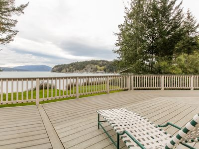 Photo for Stunning waterfront home w/ private hot tub - perfect for a relaxing getaway