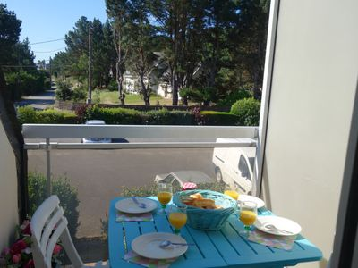 Photo for One bedroom Apartment, sleeps 3 in Saint-Philibert with WiFi