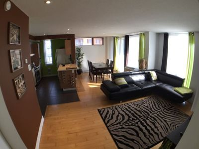 Panoramic view !!! 2 bedrooms corner unit condos !! 4 adults -  Ahuntsic-Cartierville