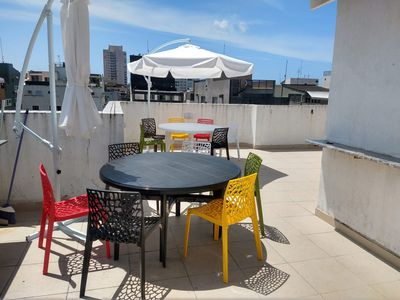 Photo for Cover with BBQ, close to beach and all trade