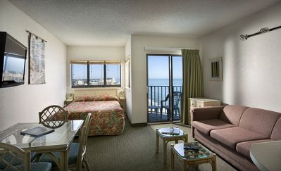 Photo for Beautiful Angle Oceanfront Sun Suite + Official On-Site Rental Privileges