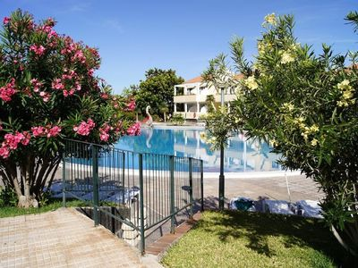 """Photo for Apartment """"La Luna"""" to feel comfortable with large pool"""