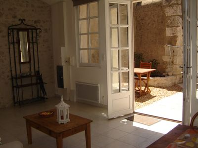 Photo for Small charming house in the heart of the Loire castles