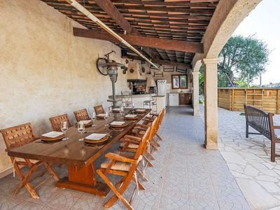 Photo for Cagnes-sur-Mer Holiday Home, Sleeps 7 with Pool, Air Con and Free WiFi