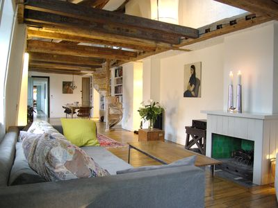 Photo for Huge. 4beds In Marais Listed Bldg. Quiet, Sunny And Central.