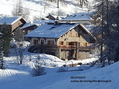 Photo for RARE CHALET LA PLAGNE at the foot of the slopes 12-15 people jacuzzi