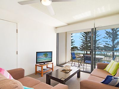 Photo for Kingston Court unit 7 - Right on the beach in Rainbow Bay, great location.