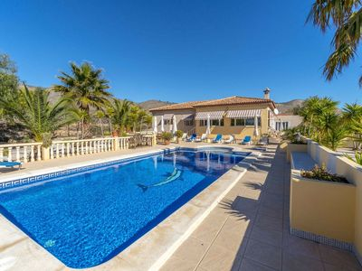 Photo for Stunning private villa for 8 guests with pool, A/C, WIFI, TV and parking