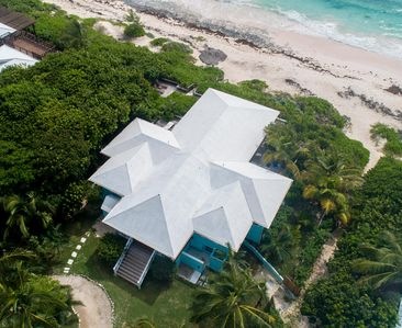 Photo for Third Reef - Dreamy Beachfront Home Overlooking Pink Sands Beach