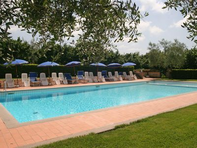 Photo for Nice apartment for 4 people with WIFI, pool, TV, panoramic view and parking