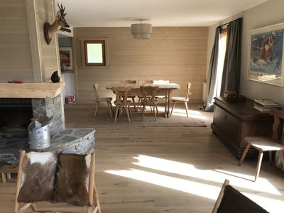 Photo for Charming family chalet in the Alps