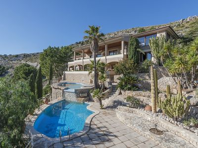 Photo for Villa Bellavista - Breathtaking views over the Puerto Pollensa town and bay.
