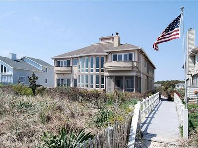 Photo for Grand Oceanfront Villa in North Bethany