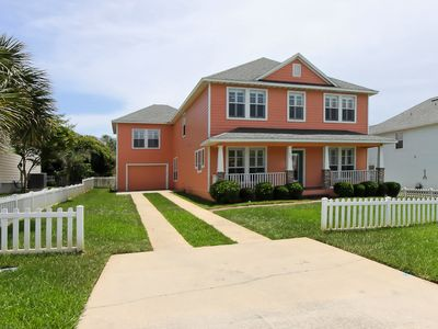 Photo for Beautiful Pool Home ~ Very Spacious ~ Sleeps 14~ Only Steps to the Beach!