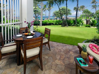 Photo for SPRING RATES ARE REDUCED! Beach Level Studio Direct Ocean Views Villa 102