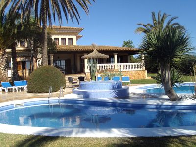 Photo for Holiday villa for 10 people near Cala D'Or and Cala Sanau.