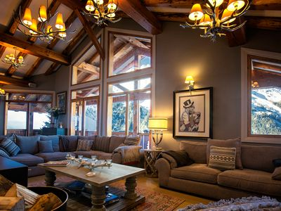 Photo for Large and Luxurious 8 bedroom chalet on the slopes of Sainte Foy