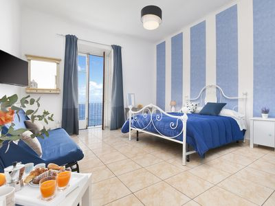 Photo for Appartamento Marina Blu with Sea View near the Beach