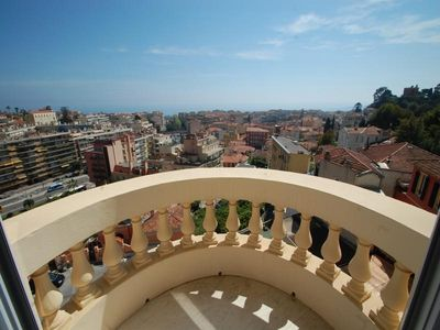 Photo for Apartment Menton, 2 bedrooms, 7 persons