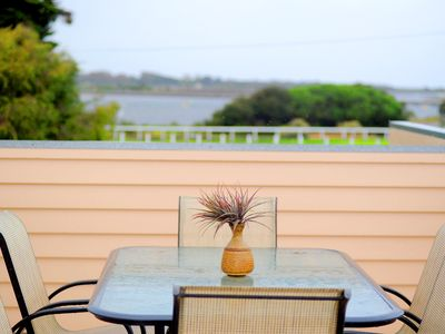 Photo for Ultra modern split level townhouse in central Queenscliff with bay views