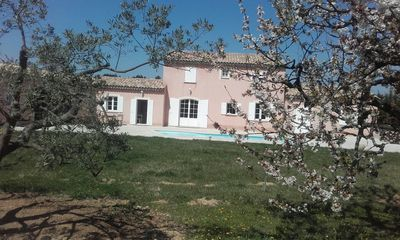 Photo for LUXURY VILLA 300 M2 - 4 ROOMS IN MOUNTAINS OF VAUCLUSE TRUFFLE DISCOVERY