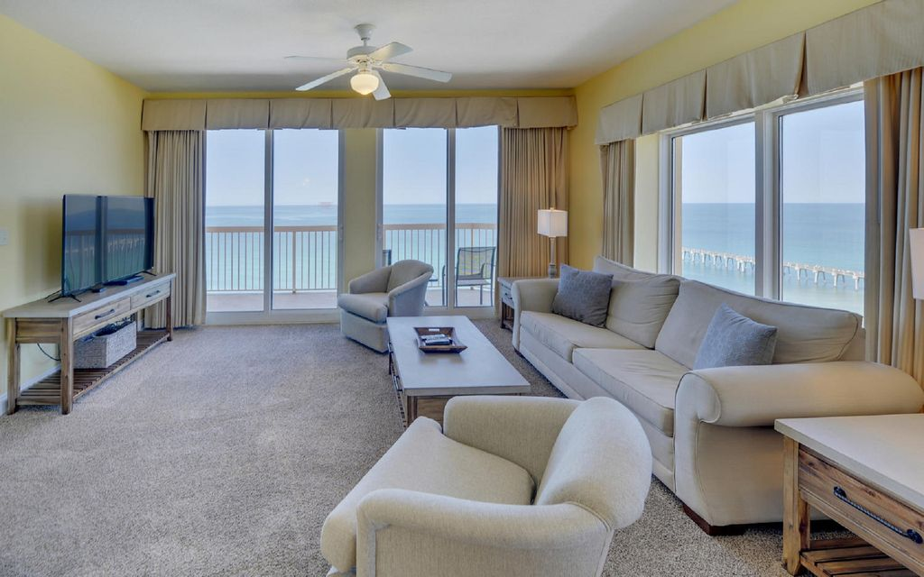 Property Image#5 Ocean Front 3 Bedroom Condo Near Pier Park From $115 Per  Night