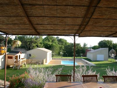 Photo for Nice house with pool between sea and Cévennes