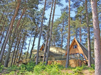 Photo for SEE 7763 - Finnhütte 3 - Holiday homes directly on the lake village Zechlin SEE 7760