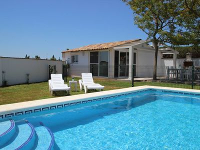 Photo for New holiday house for 4 persons with beautiful views of the surroundings of Conil - with private Pool, aircondition, WiFi Internet