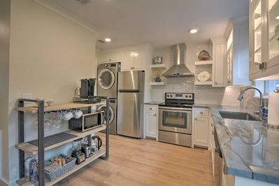 This home is completely remodeled with high-end finishes, inside and out!