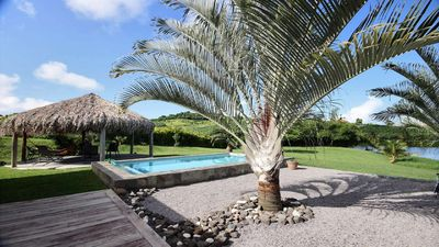 Photo for Villa Martinique 3 bedrooms, swimming pool, relaxing setting, near kitesurf spot
