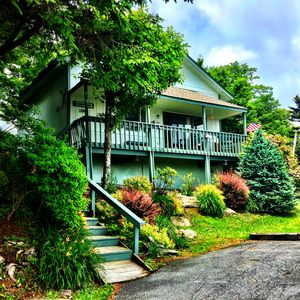 Photo for ❤️of Beech Mountain, Slopeside Cabin, Mtn. Views, Updated, Best Location