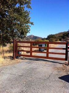 Gated entrance - remote opener provided.