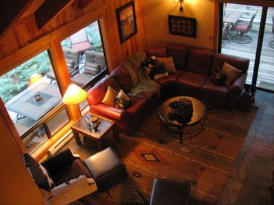 100% 5-Star Reviews-Charming Updated Cabin-15th Fairway Big Meadow Golf Course