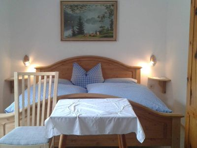 Photo for Double room without shower and toilet 2 - organic farm Seemanngut