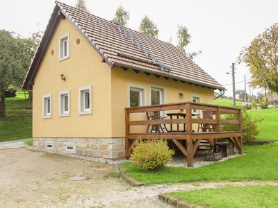 Photo for Comfortable holiday home near Dresden with wood stove and private garden