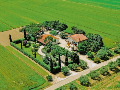 Photo for Farmhouse with spacious garden in the Maremma region, near the sea