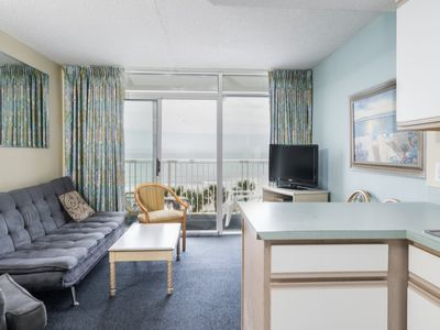 Photo for Sea Watch  South -  414 This condo has enviable views over the sea and resort swimming pools.