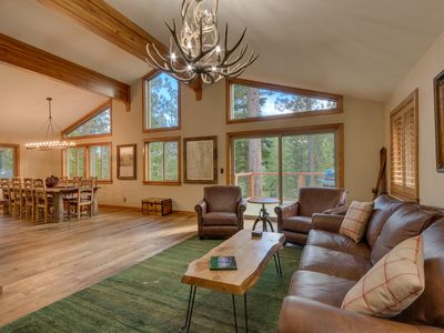 Photo for Sherwood Chalet - Remodeled 3 BR Mountain Escape in Spectacular Setting