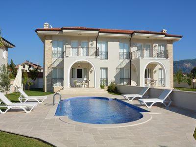 Photo for Family-friendly Exclusive Holiday Villas, Private Pool, Close to Center of Town