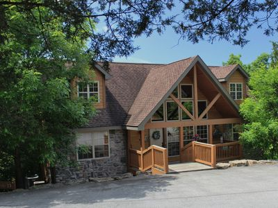 Photo for 4BR/4BA BRANSON CABIN by SILVER DOLLAR CITY, We pay the CLEANING FEES!!!!!!!
