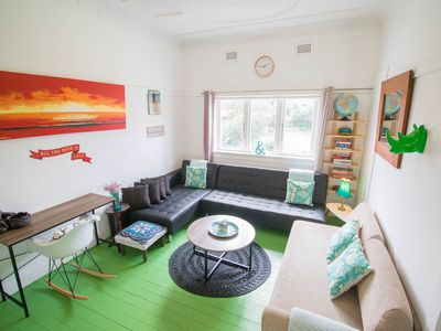 Photo for Bondi Beach Lovely 2 bedroom apartment + Parking