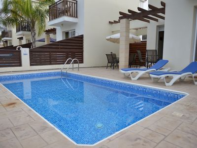 Mickey3, two bed,FREE CAR,Private Pool, Cyprus Hospitality, wifi, aircondition