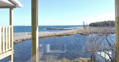 Photo for Enjoy The View Of The Atlantic Ocean From Private Balcony, Steps From Acadia