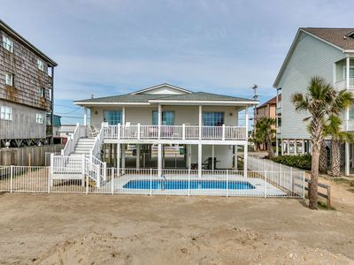 Photo for Lovely Oceanfront Home with Private Pool in One of TripAdvisor's Top 25 Beaches in the US!